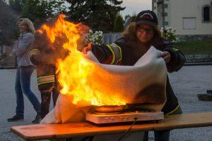 Feuerlöscher Training