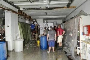 Wasserschaden Feuerwehrhaus