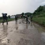 Überflutung 12. Juni 2014
